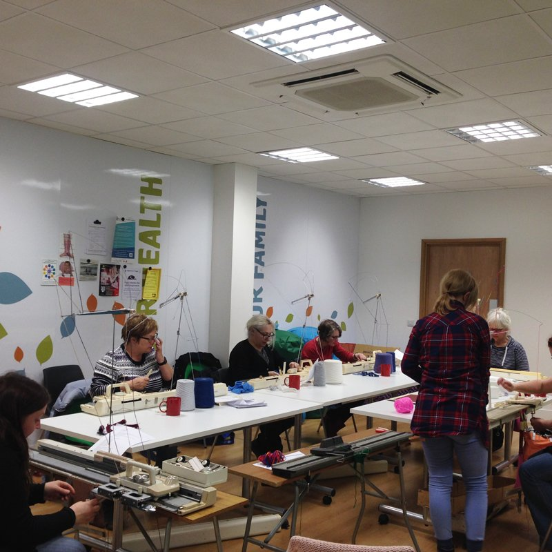 LHB Machine Knitting Course