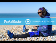Pecha Kucha 20 x 20 presentation at De La Warr Pavilion