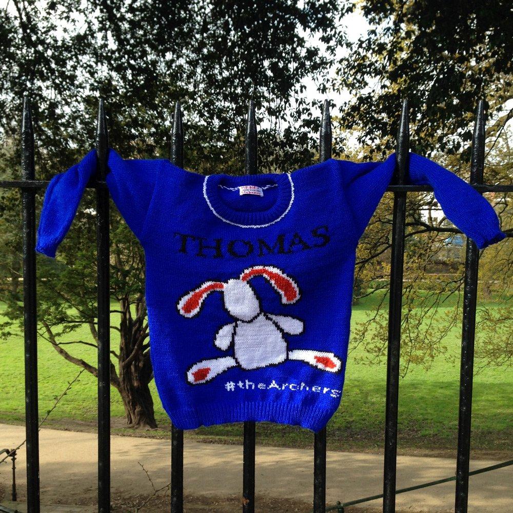 A jumper for Henry Titchener