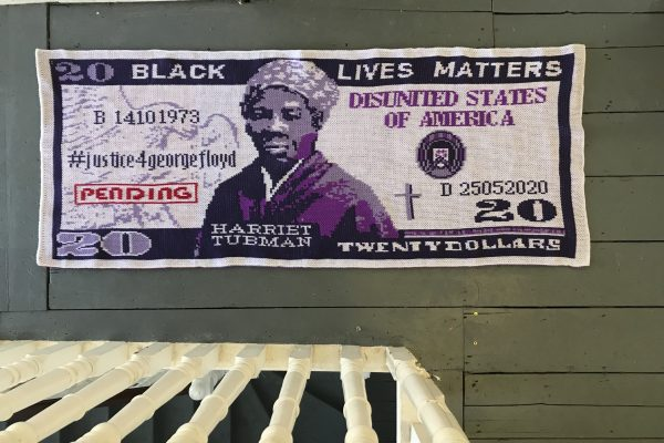 Knitted Harriet Tubman $20 Bill