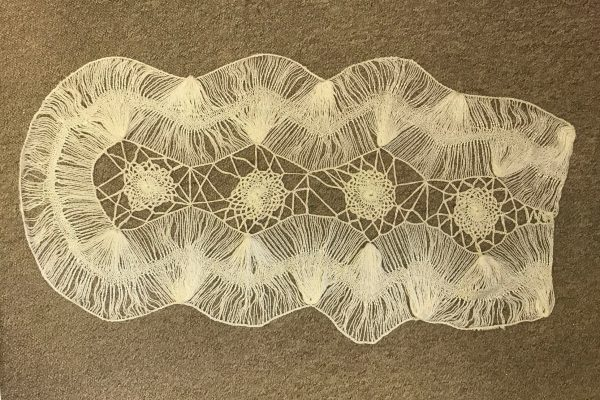 Freestyle Hairpin lace artwork